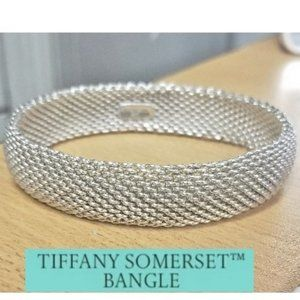 Auth Somerset Mesh Bangle Bracelet w My Own Pics